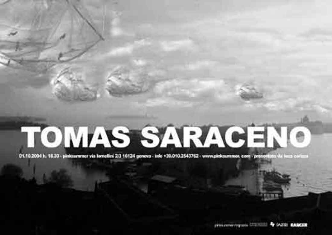 pinksummer-tomas-saraceno-on-air-invitation-card