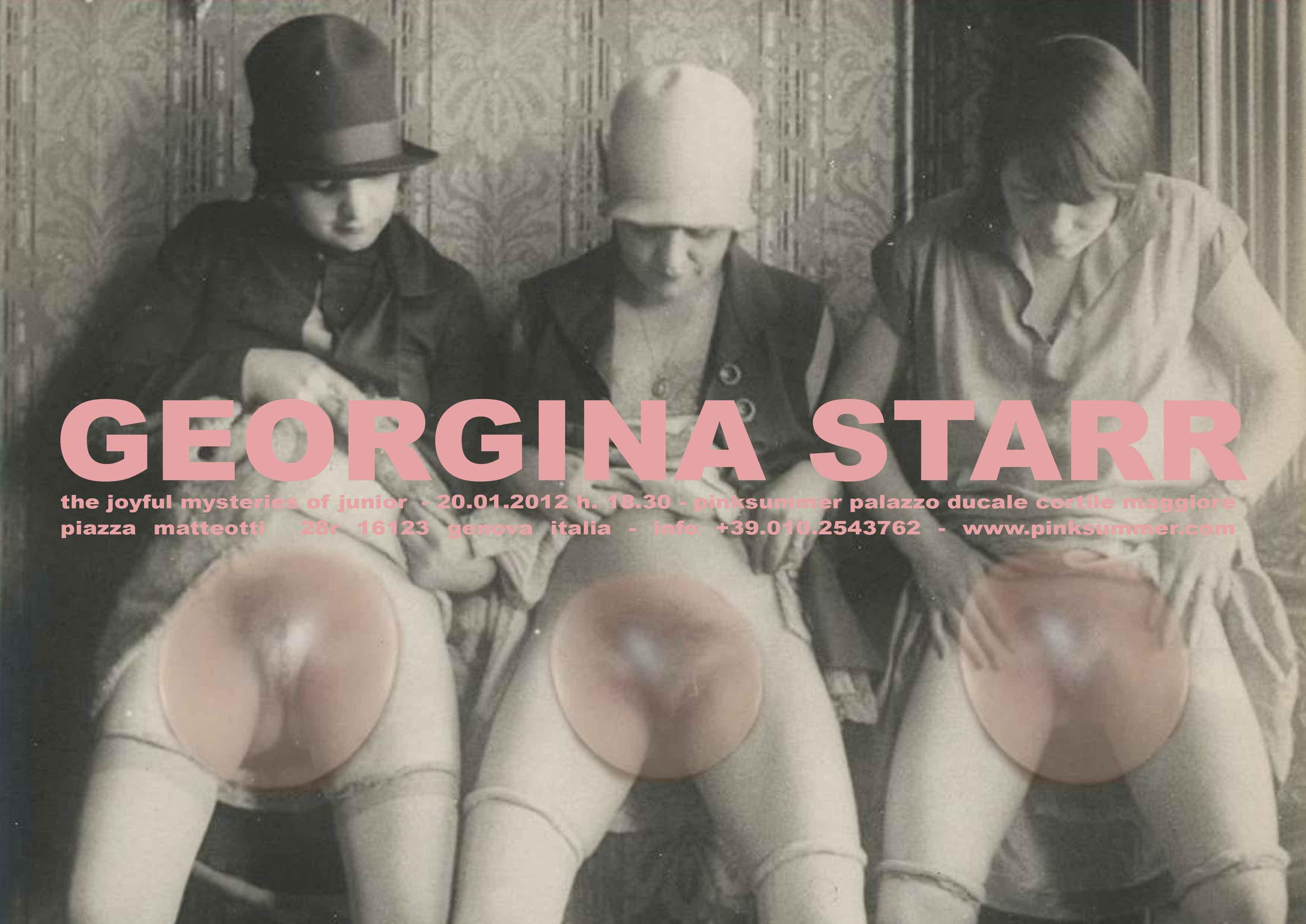 pinksummer-georgina-starr-the-joyful-mysteries-of-junior-invitation-card